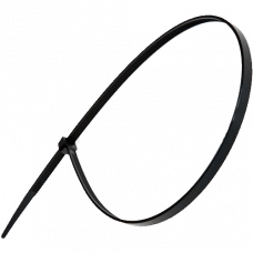 Хомут nylon 300x3,6 мм 100 шт. чёрный Tantos