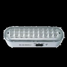 LED-03-30 Светильник аварийного освещения;