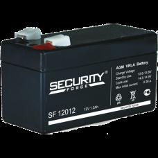 Security Force AKB-12012 12В 1,2 А/Ч Аккумулятор