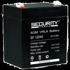 Security Force AKB-12045 12В 4,5 А/Ч Аккумулятор