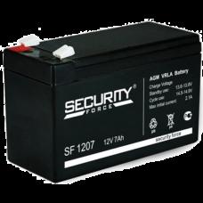 Security Force AKB-1207 12В 7 А/Ч Аккумулятор