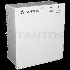 Tantos ББП-30 TS (ПЛАСТИК) 12В 3 Ампера Импульсный бесперебойный блок питания