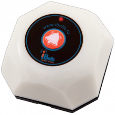 Кнопка вызова iBells 301-WHITE Кнопка вызова   официанта