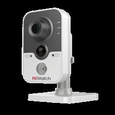 Малогабаритная (кубик) IP камера HiWatch DS-I114W (6 mm)