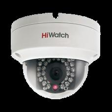 Антивандальная IP камера HiWatch DS-I122 (4 mm)