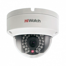 Антивандальная IP камера HiWatch DS-I122 (8 mm)