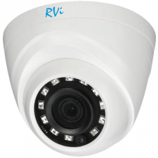 Купольная 4 в 1 (AHD/CVI/TVI/Аналог) камера RVi-1ACE200 (2.8) white