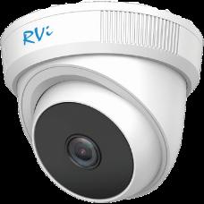 Купольная 4 в 1 (AHD/CVI/TVI/Аналог) камера RVi-1ACE210 (2.8) white