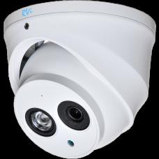 Антивандальная 4 в 1 (AHD/CVI/TVI/Аналог) камера RVI-HDC321VBA (2.8)