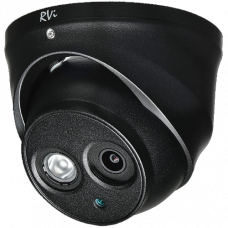 Антивандальная 4 в 1 (AHD/CVI/TVI/Аналог) камера RVI-HDC321VBA (2.8) BLACK