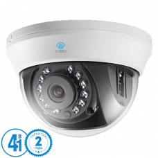 Купольная 4 в 1 (AHD/CVI/TVI/Аналог) камера O'Zero AC-D11 (2.8)