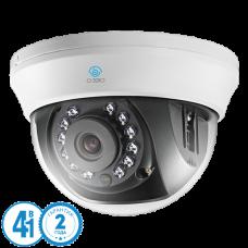 Купольная 4 в 1 (AHD/CVI/TVI/Аналог) камера O'Zero AC-D21 (3.6)
