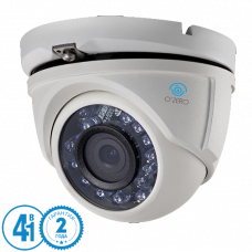 Антивандальная 4 в 1 (AHD/CVI/TVI/Аналог) камера O'Zero AC-VD11 (2.8)