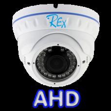 Антивандальная вариофокальная AHD камера REX AHD-0210-V1