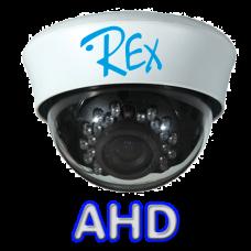 Купольная вариофокальная AHD камера REX AHD-0310-V1