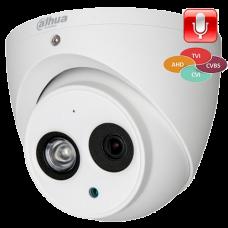 Антивандальная 4 в 1 (AHD/CVI/TVI/Аналог) камера Dahua DH-HAC-HDW1220EMP-A-0360B-S3