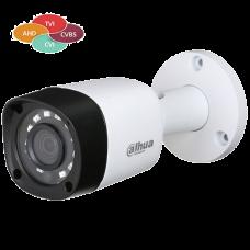 Уличная 4 в 1 (AHD/CVI/TVI/Аналог) камера Dahua DH-HAC-HFW1000RMP-0360B
