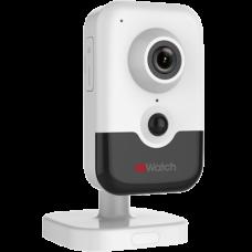 Малогабаритная (кубик) IP камера HiWatch DS-I214W(B) (2.8 mm)