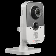 Малогабаритная (кубик) IP камера HiWatch DS-I214W (4 mm)