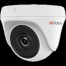 Купольная TVI камера HiWatch DS-T133 (6 mm)