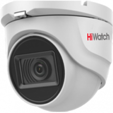 Антивандальная 4 в 1 (AHD/CVI/TVI/Аналог) камера HiWatch DS-T203A (2.8 mm)