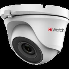 Антивандальная 4 в 1 (AHD/CVI/TVI/Аналог) камера HiWatch DS-T203S (6 mm)