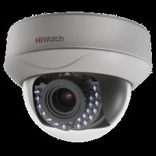 Купольная вариофокальная TVI камера HiWatch DS-T207P (2.8-12 mm)