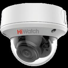 Купольная вариофокальная 4 в 1 (AHD/CVI/TVI/Аналог) камера HiWatch DS-T208S (2.7-13.5 mm)