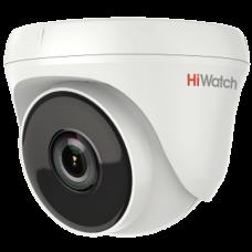 Антивандальная TVI камера HiWatch DS-T233 (3.6 mm)