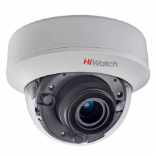 Купольная вариофокальная TVI камера HiWatch  DS-T507 (2.8-12 mm)