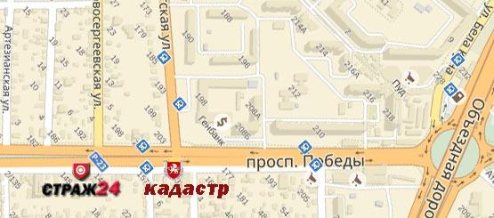 Страж24 карта проезда